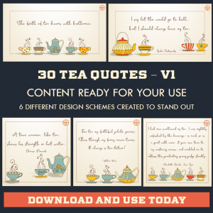 DFY Tea Quotes – Instagram – 30 Pack