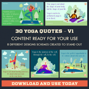 DFY Yoga Quotes – Twitter – 30 Pack